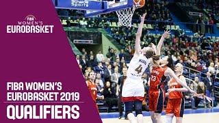 Russia v Albania - Full Game - FIBA Women's EuroBasket 2019 Qualifiers