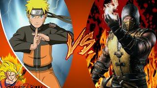 NARUTO vs SCORPION! Cartoon Fight Club Episode 80 REACTION!!!