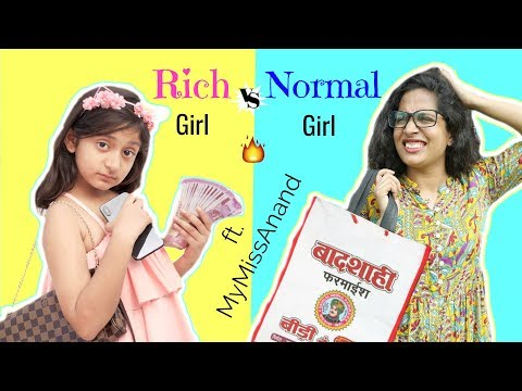 Xxx Mp4 RICH Vs NORMAL GIRL Ft MyMissAnand Fun Sketch Roleplay ShrutiArjunAnand 3gp Sex