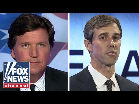 Tucker Beto hates border walls