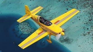 IN THE AIR - Freeride in Tahiti - aerobatic flight - C3P VOLTIGE