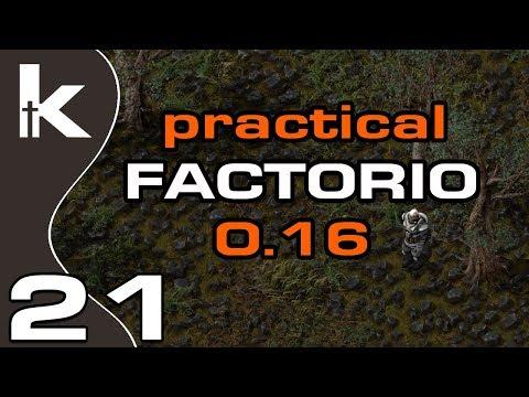 Practical Factorio 0.16 Episode 21 Laying Rail Factorio Let s Play