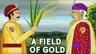 Akbar Birbal Stories In Hindi | A Field Of Gold | Hindi Animated Stories | Masti Ki Paathshala