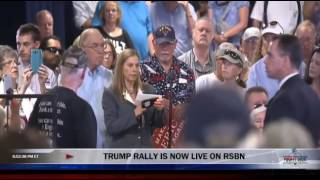 Air Force mother gets booed at Mike Pence Townhall, Carson City, NV, 8/1/16