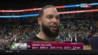 Deron Williams on how it feels to be going to first NBA Finals in career with Cleveland Cavaliers