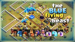 TH12 Awesome Army: 8 Electro Drag+ 8 Loon+ 5 Freez Spell | TH12 War Strategy #14 | COC 2018 |