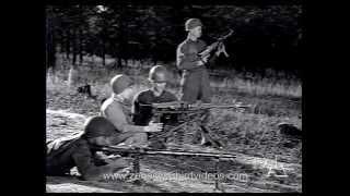 World War 2 Machine Gun Shootout: US versus German (1945)