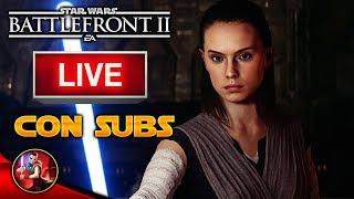 #9 JUGANDO Con SUSCRIPTORES En Star Wars Battlefront 2 - Battlefront - EA - ByOscar94