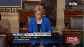 Elizabeth Warren: Senate Healthcare Bill Paid for With