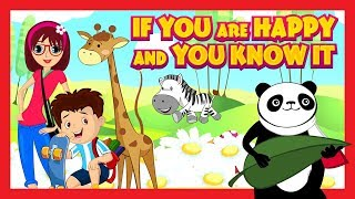 If You Are Happy And You Know It - English Rhyme For Kids || Nursery Rhymes For Kids In English