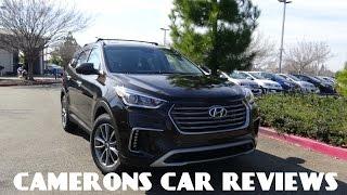 2017 Hyundai Santa Fe SE Review 3.3 L V6 | Camerons Car Reviews
