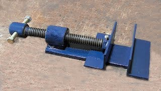 Make A Metal Mini Drill Vise | DIY HomeMade Tool