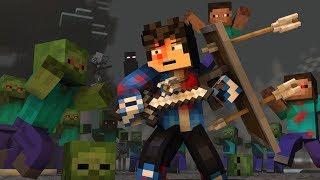 "Rainimator - ""The Struggle""   Minecraft Original Music Video   1 Hour By Rainimator"