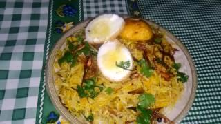 Egg Biryani Recipe |/अंडा बिरयानी कैसे बनाये /Egg dum biryani by Uzma Hussain
