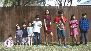 Family Adopts 9 Siblings From Foster Care: