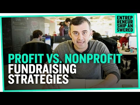 Profit vs. Nonprofit Fundraising Strategies