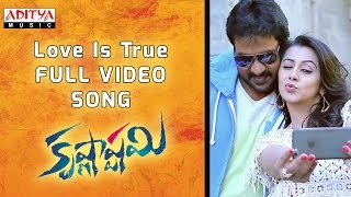 Love Is True Full Video Song || Krishnashtami Full Video Songs