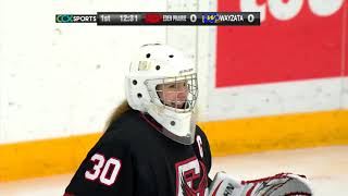 Eden Prairie vs. Wayzata Girls High School Hockey