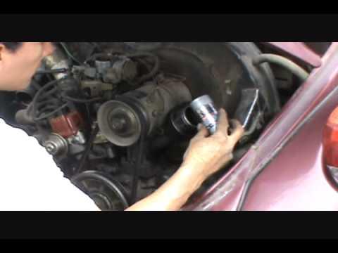 Prueba RESURS en VW Sedan 1983