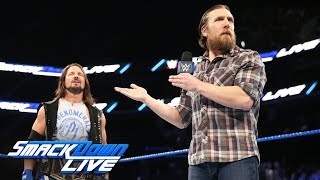 AJ Styles & Daniel Bryan warn Brock Lesnar about what awaits him: SmackDown LIVE, Nov. 14, 2017