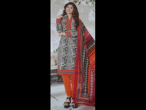 How To Cutting And Sewing Printed Ladies Suite Salwar