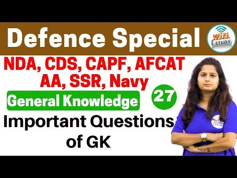 Xxx Mp4 Defence Special General Knowledge By Shipra Ma Am Day 27 Important Questions Of GK 3gp Sex