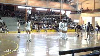 Mika Reyes,Ara Laughing DLSU Vs UB (DLSU rookies Galing) @sunajneji11 (Baguio May 2013) part 3/3