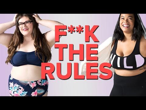 Women Break Plus-Size Fashion Rules