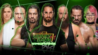 WWE Money in tha Bank 2018 Highlights Result Prediction | 100% Result of MITB