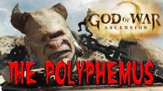 God of War ASCENSION Execution of POLYPHEMUS Cyclopes [HD]