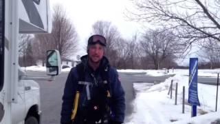 Help Me Bury Cancer - Ottawa arrival - Day 24