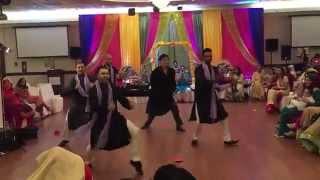 VIP Boys - Mehndi Dance 2015 (Palat Main Tera Hero, Superman Tevar, Double Addi, Eye to Eye)