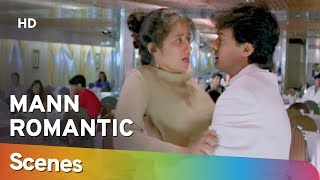 Romantic Scenes from Mann (HD) Aamir Khan | Manisha Koirala | Neeraj Vora - 90