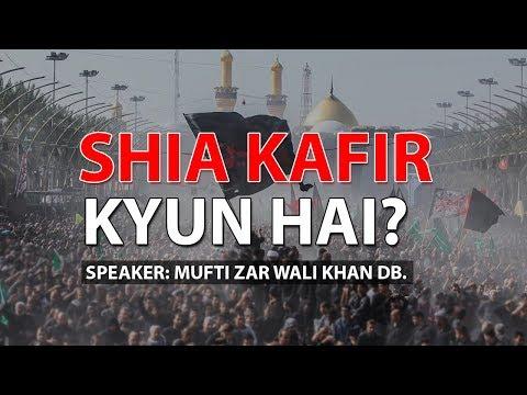 Xxx Mp4 Shia Kafir Kyun Hai Shia Ki Haqeeqat Mufti Zar Wali Khan DB 3gp Sex
