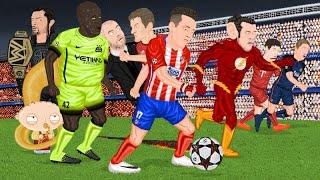 Parodia animada de las Semifinales de Champions League 2016