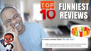 THE TOP 10 FUNNIEST Food Reviews EVER!! Sugarless Haribo Gummy Bears