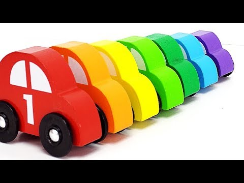 Kid Learning Video Learn Colors Counting and Sorting Play with Fun Car Toys for Kids