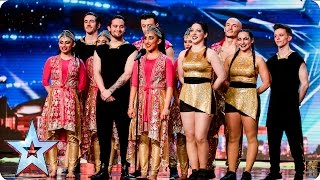 Bollywest Fusion spice up the stage | Auditions Week 7 | Britain's Got Talent 2016