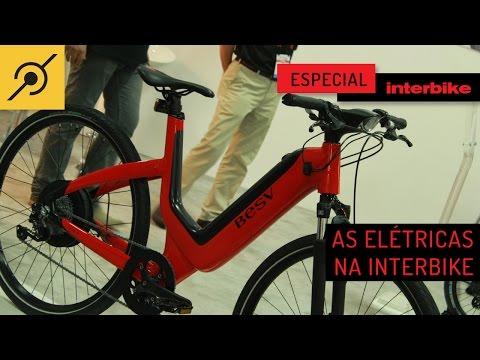 Pedaleria Interbike Bicicleta eletrica. Divertidas e práticas.
