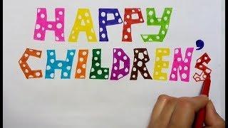 Write happy Children