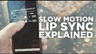 Slow-Motion Lip Sync EXPLAINED