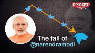 PM Modi loses 3 lakh Twitter followers  | News Top 10 - 13 July 2018