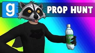Gmod Prop Hunt Funny Moments - Bank Robbery Superheroes! (Garry