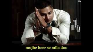 Bring Me Back | Ft. Yo Yo Honey Singh | HD Lyrics Video
