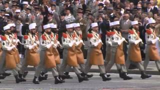 Légion Étrangère défilé militaire du 14 Juillet 2014