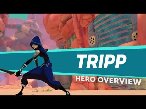 Gigantic: Hero Overview - Tripp
