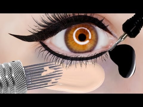 Xxx Mp4 My Permanent Makeup 10 Years Later Permanent Concealer Eyeliner Nose Eyebrow Tattoos 3gp Sex