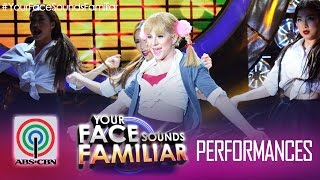 "Your Face Sounds Familiar: Melai Cantiveros as Britney Spears - ""Baby One More Time"""