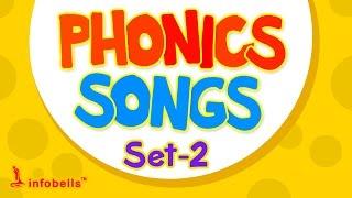 Phonics Songs for Kids Part 2 | Infobells