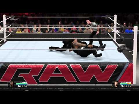 Xxx Mp4 WWE 2k15 CJ Blaze Vs Roman Reigns 3gp Sex